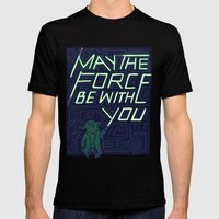 The Force Mens Fitted Tee Black SMALL