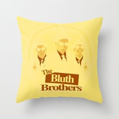 The Bluth Brothers Throw Pillow