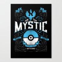 A Mystical Decision  Canvas Print
