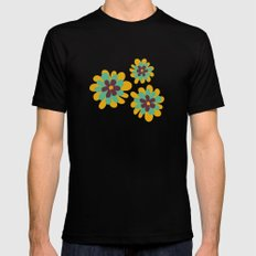 Flowers For Lola SMALL Mens Fitted Tee Black