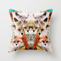 WHAT THE FOX SAY Throw Pillow