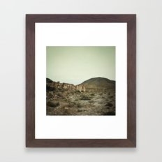 Nulle-part Framed Art Print