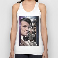 Doctor Who -11th Doctor Unisex Tank Top