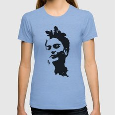 Frida Womens Fitted Tee Athletic Blue SMALL