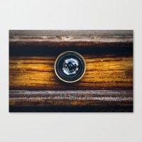 Peephole Canvas Print