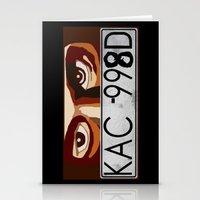 Van Damn Van Stationery Cards