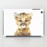 Little Mountain Lion iPad Case
