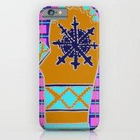 Cozy Up, Winter Cover iPhone 6 Slim Case