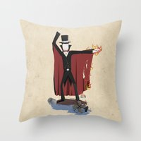 NSIE : Master of the Elements Throw Pillow