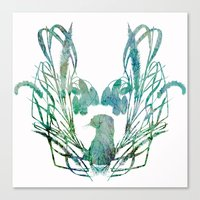 Otterly spring Canvas Print