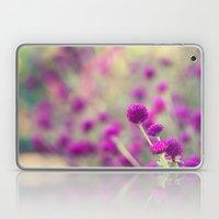 Purple Puffs Laptop & iPad Skin