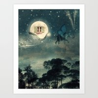 Moon Dream Art Print