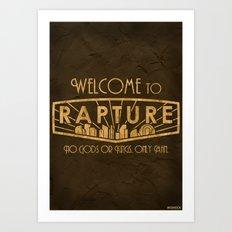 BioShock Rapture Art Print