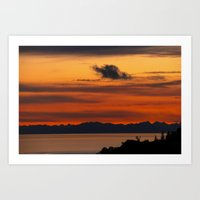 Vivid And Peaceful - Ala… Art Print