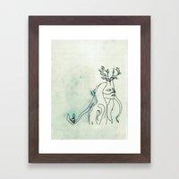The Husband Eater (sketc… Framed Art Print