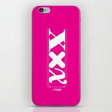 XXX-height. iPhone & iPod Skin
