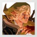 Link Get! Canvas Print