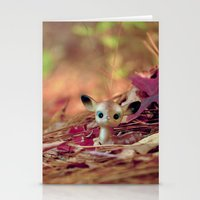 Hidden (Little Deer) Stationery Cards