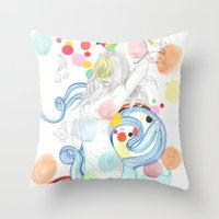 The Siren Throw Pillow