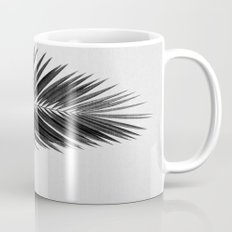 Palm Leaf Black & White II Mug