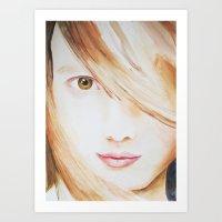Lila Art Print