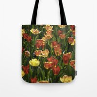 A sea of spring tulips Tote Bag