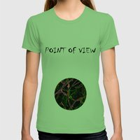 Depth Womens Fitted Tee Grass SMALL