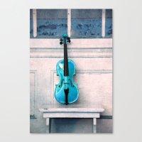 Violin IV Canvas Print
