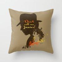 Don't Call Me Junior! … Throw Pillow