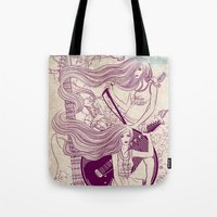 Music, Love, Peace Tote Bag