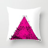 A (abstract geometrical type) Throw Pillow