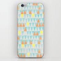 Triangle Patterns iPhone & iPod Skin