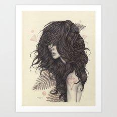 Fern Art Print