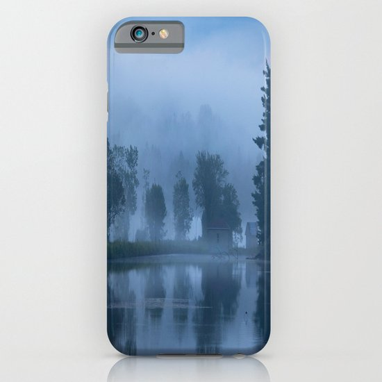 Peaceful Blue iPhone & iPod Case
