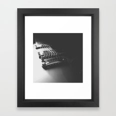 Silverburst Framed Art Print