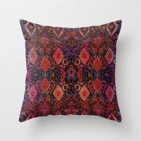 Tie Dye Tapestry  Throw Pillow