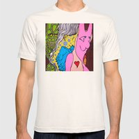 LIZARD LADY and HER MERRY BAND of MISFITS Mens Fitted Tee Natural SMALL