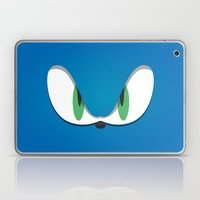 Blue Face Laptop & iPad Skin