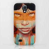 Galaxy S4 Cases featuring Pele by Michael Shapcott