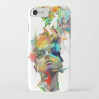 portrait iPhone & iPod Cases featuring Dream Theory by Archan Nair