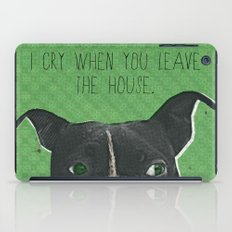 Boston Terrier Print iPad Case