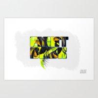Fight Back Art Print