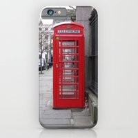iPhone & iPod Case featuring London Phone Booth by Melinda Zoephel