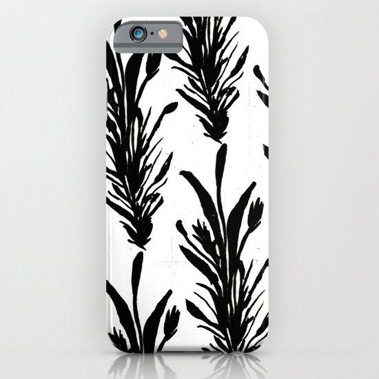 Black Leaves iPhone & iPod Case