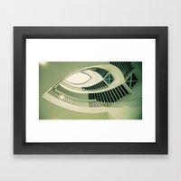 teardrop stairs Framed Art Print