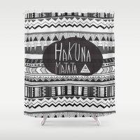HAKUNA MATATA  Shower Curtain