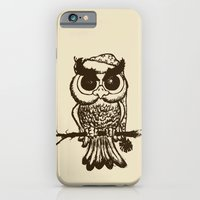 iPhone Cases featuring owl by mangulica
