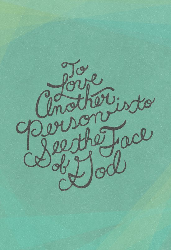 To Love Another... Art Print