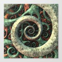 Tentacles Canvas Print