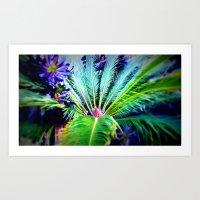 Tropical Plants And Flow… Art Print